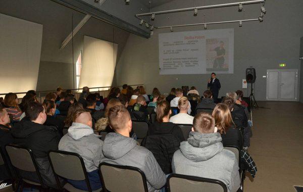 Wykład o Władysławie Suleckim, Gliwice, 13 grudnia 2018
